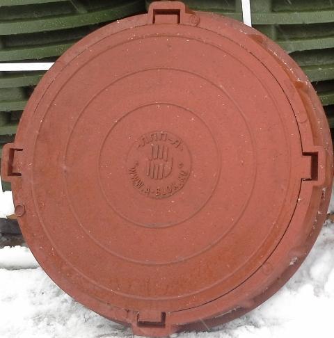 Люки канализации для смотровых колодцев ЛПП-Л