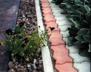 Тротуарная плитка, благоустройство придомовой территории