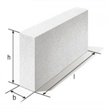 Перегородочные блоки Б/1, газобетонные блоки